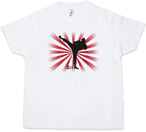 Ninja II Kids Boys Children T-Shirt Samurai Warrior Way of Sepuku Banzai Japan Japanese White