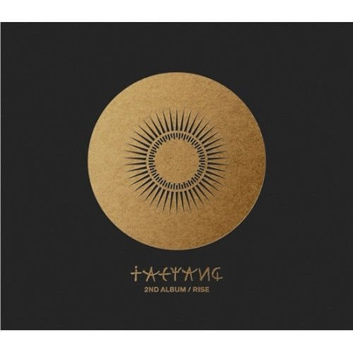 BIGBANG TAEYANG [RISE] 2nd Album CD+48p Photo Book(Booklet)+Tracking Number K-POP SEALED