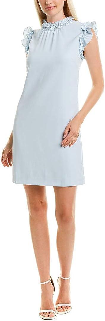 Ted Baker Lalyand Ruffle Collar A line Mint Dress