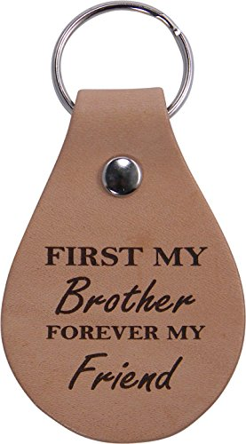 First-My-Brother-Forever-My-Friend-Leather-Key-Chain-Great-Gift-for-Birthday-or-Christmas-Gift-for-Brother-Brothers