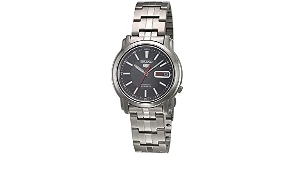 Amazon.com: Seiko Mens 5 Automatic Analog Casual Automatic Watch NWT SNKL83K1: Watches