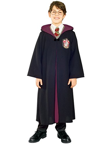 Boys Deluxe Harry Potter Robe Costume (XL 14-16) ()