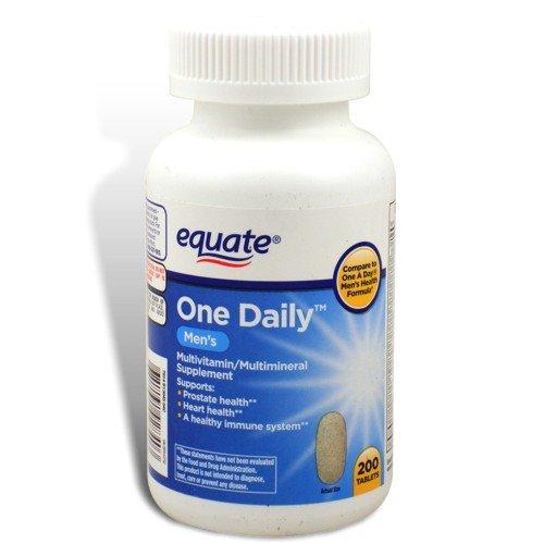 Приравниваем - один Ежедневное употребление витаминов, Мужская Формула здоровья, 200 таблеток