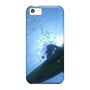 Iphone 5c Case Cover Surfer Floating Sea Case - Eco-friendly Packaging