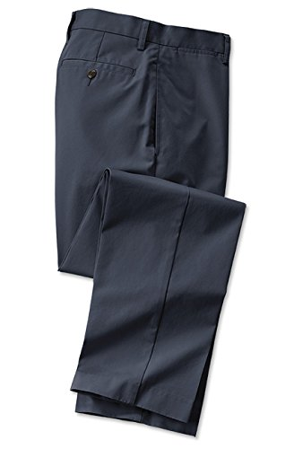 Orvis Wrinkle-Free Trim Fit Supima Twill Chinos, Navy, 40, Inseam: 32 Inch