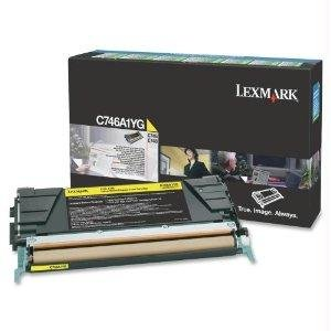 Lexmark C746 C748 Yellow Return Program Toner Cartridge - By