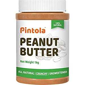 Pintola All Natural Peanut Butter (Crunchy) (1 kg) India 2021
