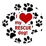 Thirstystone Love My Rescue Dog Car Cup Holder
