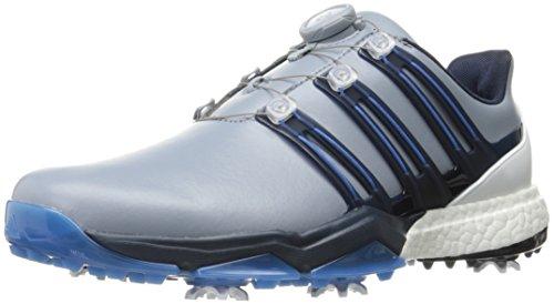 adidas Powerband BOA Boost Golf Shoes,Grey,9.5 M US by adidas