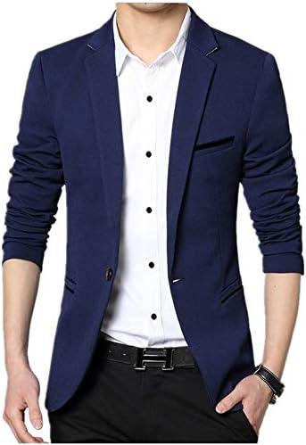 テーラードジャケット メンズ シングル ジャケット 細身 長袖 カジュアル 夏 秋 サマージャケット