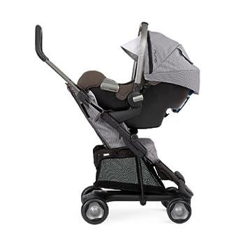 Nuna – Carrito para niños + Silla + Adaptador, en color gris: Amazon.es: Bebé