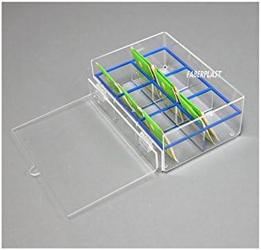 Faberplast Caja de Infusiones, Metacrilato, 20x14x7 cm: Amazon.es: Hogar