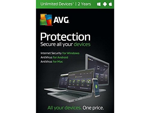 Price comparison product image AVG Protection 2017 Unlimited Devices - 2 Year