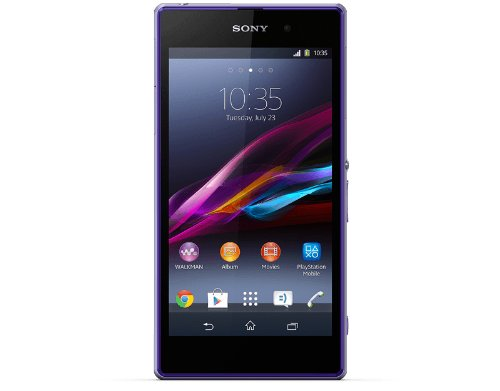 Sony Xperia Z1 5inch LTE C6906 - Factory Unlocked (Purple) by Sony