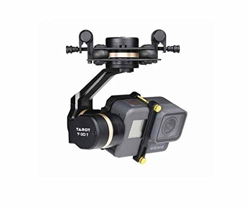 Tarot TL3T05 3DⅣ Metal FPV Brushless Gimbal for GOPRO 5 RC Quadcopter Multicopters by ARRIS