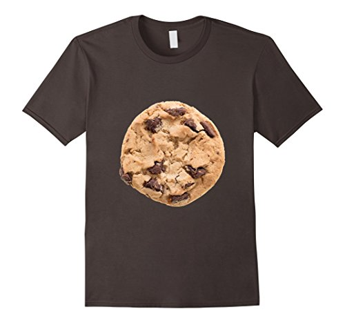 Costume Man Last Minute For Halloween (Mens Cookie Last Minute Halloween Funny Matching Costume T-Shirt Large)