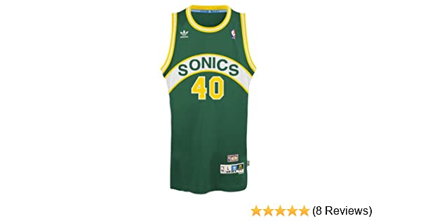 380737574bd8 Amazon.com   Shawn Kemp Seattle Supersonics Adidas NBA Throwback Swingman  Jersey - Green   Sports Fan Jerseys   Sports   Outdoors