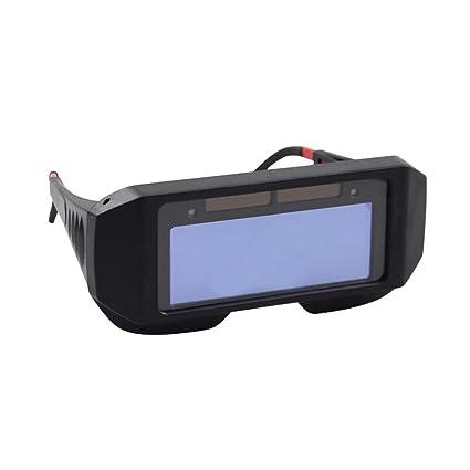 Sharplace Gafas de Soldadura de Oscurecimiento Automático Solar Soldador Gas Lentes Protección de Ojos
