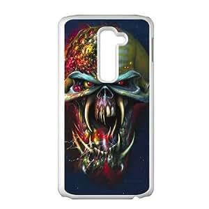 Iron Maiden LG G2 Cell Phone Case White Gift xxy_9924096