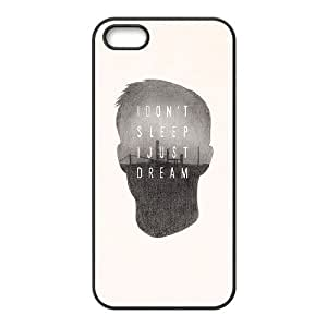 Positive Inspirational Quotes iPhone 5,5S Case Black Yearinspace955300