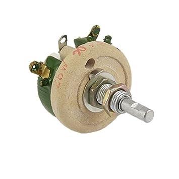 100W 5 Ohm Keramik Draht potentiometer Variable Widerstand