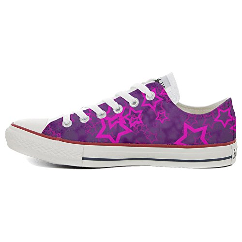 Schuhe Handwerk TG37 Schuhe Unisex Low Star mys Converse Star Personalisierte Young All Customized xnq8Un0fgw