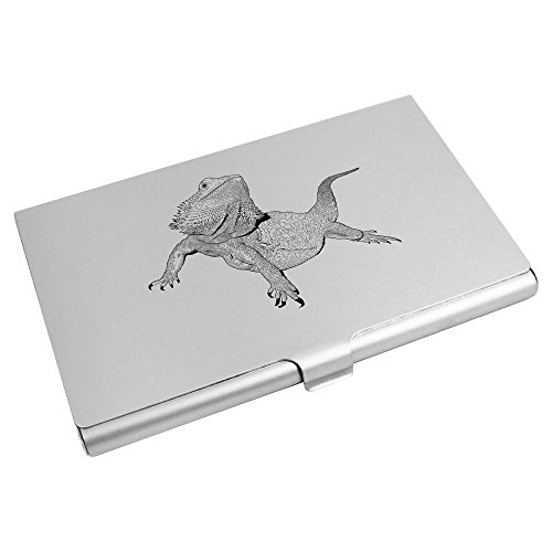 Azeeda Wallet Holder 'Bearded Card Dragon' Business Credit CH00004194 Card qwACrqx