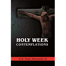 Holy Week Contemplations