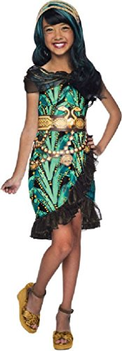 [Ponce Girls Monster High Cleo de Nile Costume Dress Denial Kids] (Monster High Cleo De Nile Halloween Costumes)