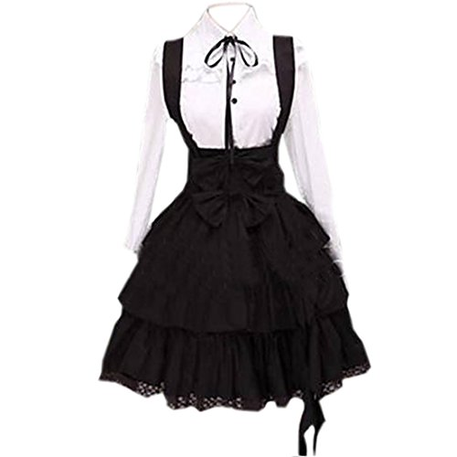 Partiss-Womens-School-Uniform-Cosplay-Costume-Anime-Girl-Lady-Lolita-Dress