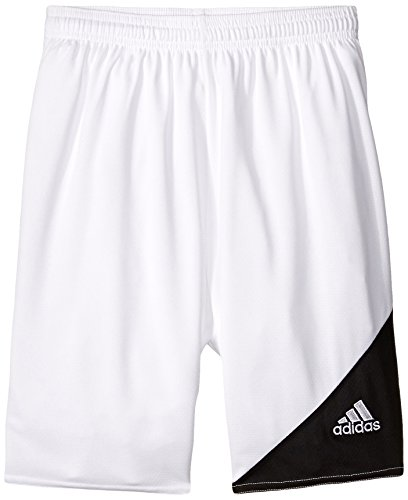 (adidas Performance Striker 13 Shorts, Youth X-Small, White/Black)