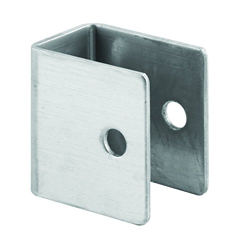 Sentry Supply 650-8205 U Shape Wall Bracket, 1-1/4 inch x 1-3/8 inch, Stamped Stainless Steel, Pack of - Stainless Wall Steel Bracket