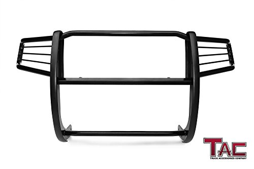 TAC Grill Guard for 2006-2015 Honda Ridgeline Pickup Truck Black Front Bumper Brush Nudge Push Bull Bar