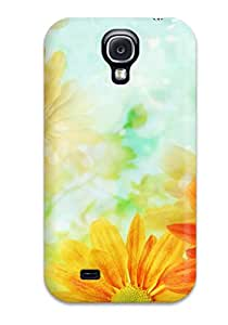 Hot Hot Case Cover Protector For Galaxy S4- Flower S 4348507K78410102