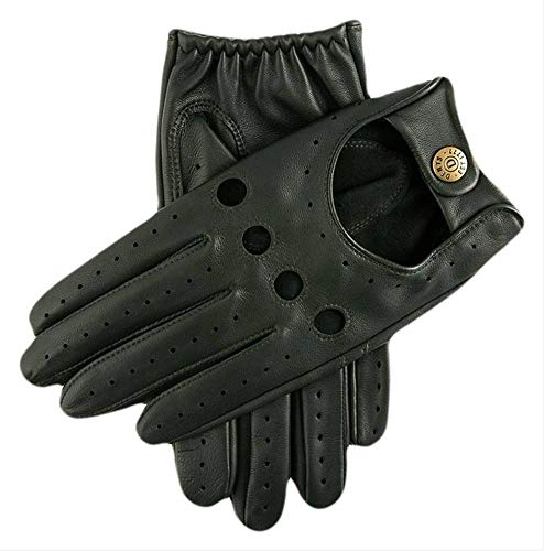 Dents Delta Leather Driving Gloves Large British Racing Green
