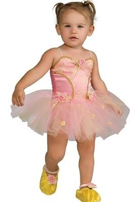 Pink Rose Ballerina Toddler Costume - Kid's Costumes