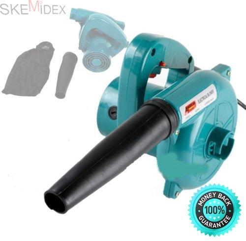 SKEMiDEX---ELECTRIC LEAF BLOWER Handheld Vacuum Action DUST Cleaning Power Tools Blowers. 13000 RPM 2 In 1 Use As A Blower Or Vacuum by SKEMiDEX