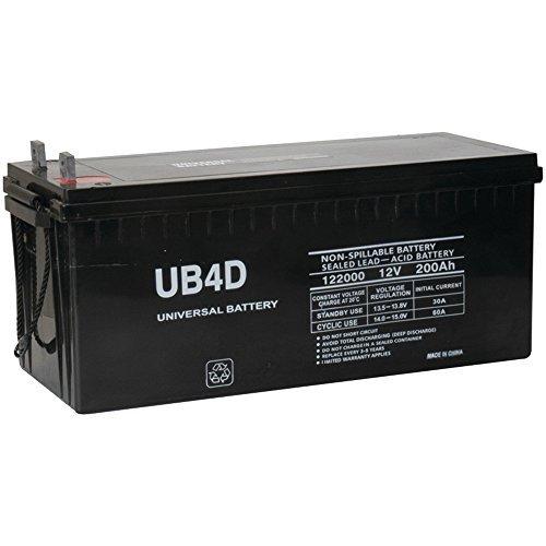 12v 200ah Solar Power Battery - Deep ()