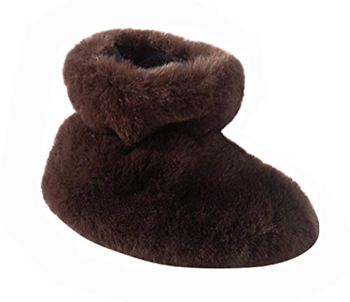 Acorn A10918 Kids Tex Easy Bootie Slipper,Brown Bear,TM