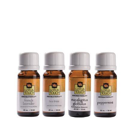(Lotus Touch Single Note Classic Pack of 4, 10 ml Bottles)