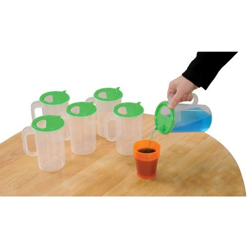 Easy Pour Pitchers - Set of 6 by Unknown
