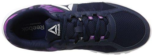 Trainette Violet 0 Mt Chaussures De Blanc Fitness bleu Yourflex 9 Reebok Femmes Collégiale 000 Vicieux Marine Fqx7d