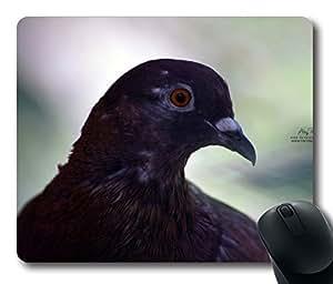 Pigeon Orange Eyes Mouse Pad Desktop Laptop Mousepads Comfortable Office Mouse Pad Mat Cute Gaming Mouse Pad
