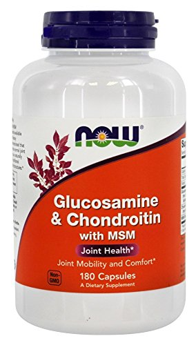NOW Foods Glucosamine Chondroitin Capsules