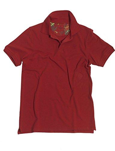 VEDONEIRE Herren Polo Hemd (3025 SUMRED) rot t-shirt sommer shirt tee