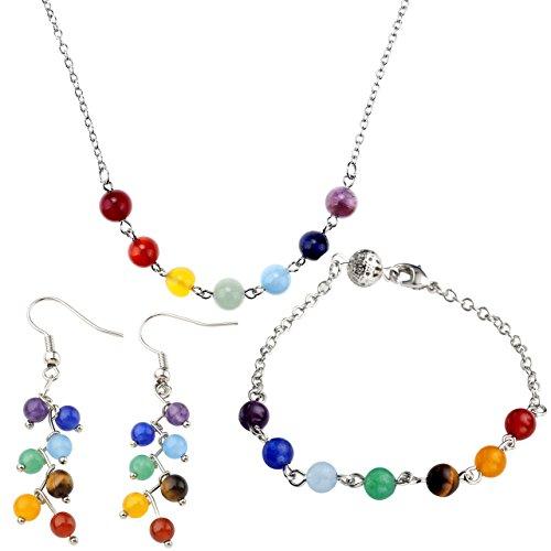 Pendant Healing Bracelet Necklace Gemstone