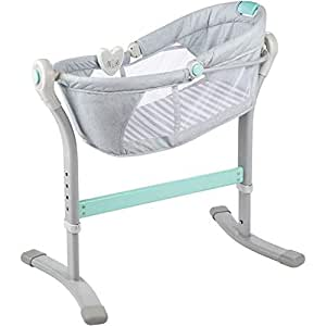 Summer Cuna by Your Bed, Grey/Teal, 1 Cuenta