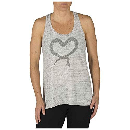 5.11 Camiseta sin mangas de corazón con henna para mujer