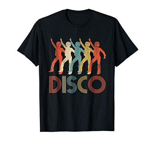 Disco Vintage T-Shirt Retro Disco Groovy Disco 70s Music Tee