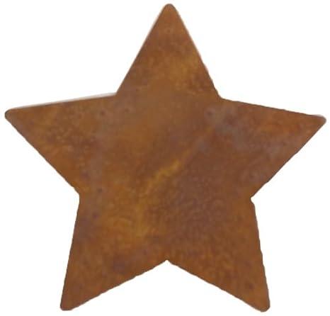 Craft Outlet Inc Craft Auslass INC 9,5cm Rustikal Star Ausschnitt Wand Décor Set 12-teilig Multi Metall 9.53 x 9.53 x 9.53 cm, Mehrfarbig